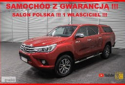 Toyota Hilux VIII AUTOMAT + 4x4 + Salon PL + 1 WŁ + Serwis TOYOTA !!!