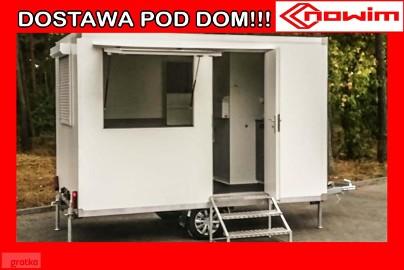 25.29.101 Nowim przyczepa kempingowa z wc camping z toaletą kemping camper turystyczna na kat B dmc 750 kg lekka bez opłat viaTOLL ...