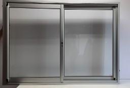 Okno do kontenera przesuwne w bok w ramie 10 cm