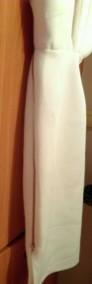 (36/S) ASOS/ Biała, ołówkowa sukienka wieczorowa/ NOWA-3