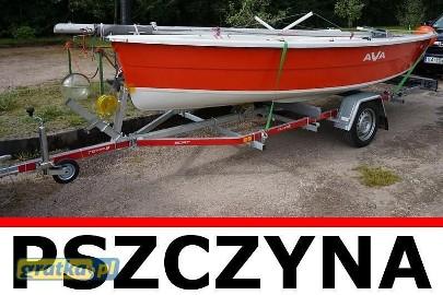 Przyczepa do przewozu łodzi Swidnik TEMA BOAT B05/055/18 5 Fabrycznie nowa!