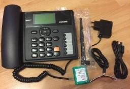 Telefon stacjonarny GSM firmy HUAWEI B-160 dlaSENIORA