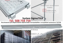 Podesty Stalowe do rusztowania 2,57m Sigma73LB Blaty Metalowe