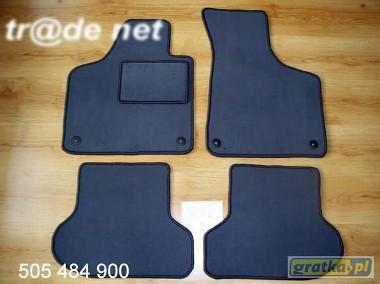 AUDI A3 sportback 05.2003 do 2012 hb 5d najwyższej jakości dywaniki samochodowe z grubego weluru z gumą od spodu, dedykowane Audi A3-1