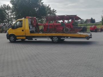 transport pługów obrotowych Latowicz przewóz pługów Latowicz 510-034-399