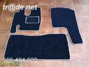 Mercedes Atego TIR najwyższej jakości dywaniki samochodowe z grubego weluru z gumą od spodu, dedykowane Mercedes-Benz
