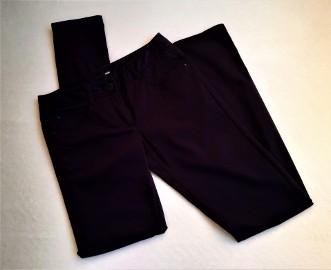 Spodnie S H&M ciemny fiolet