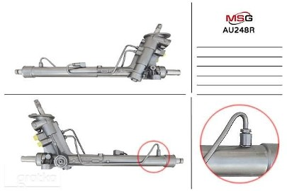Przekładnia kierownicza ze wspomaganiem hydraulicznym Seat Arosa, Seat Cordoba, Seat Ibiza, Skoda Fabia, Vw Fox, Vw Lupo, Vw Polo AU248R