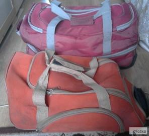 Dwie torby na kółkach