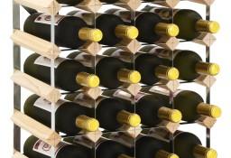 vidaXL Stojak na 20 butelek wina, lite drewno sosnowe282469