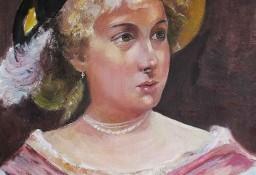 Dama rokokowa - wg .A. Gierymskiego