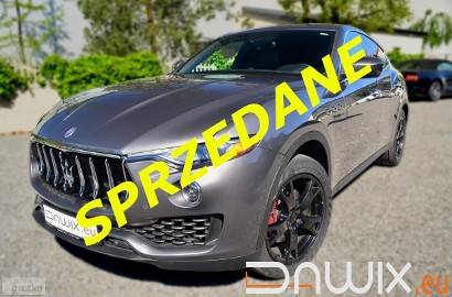Maserati Levante 3,0 V6 AWD 4x4 /Pneumatyka/Panorama/ VAT 23%