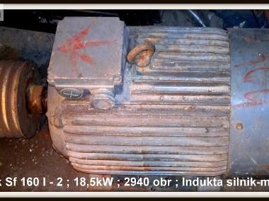 Indukta silnik-motor Sf 160 l - 2 ; 18,5kW ; 2940obr-1