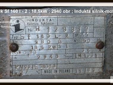 Indukta silnik-motor Sf 160 l - 2 ; 18,5kW ; 2940obr-2