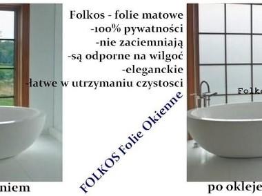 Folie okienne matowe i dekoracyjne -Oklejanie szyb Warszawa-1