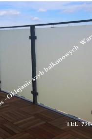 Folie okienne matowe i dekoracyjne -Oklejanie szyb Warszawa-2