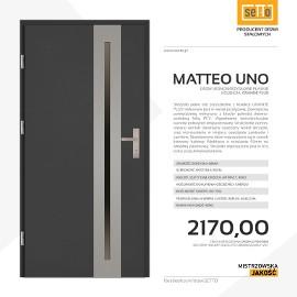 Drzwi wejściowe stalowe SETTO model MATTEO UNO PLUS
