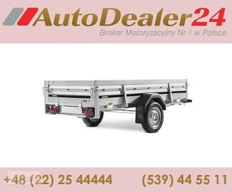 AutoDealer24.pl [NOWA FV Dowóz CAŁA EUROPA 7/24/365] 258 x 128 x 40 cm Brenderup 2260ST
