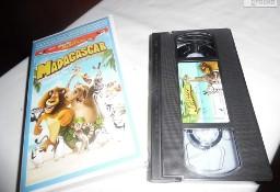 bajka,, Madagaskar'' kaseta VHS na Wideo