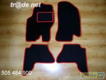 Nissan Pathfinder III od 2005 do 2013 r. najwyższej jakości dywaniki samochodowe z grubego weluru z gumą od spodu, dedykowane Nissan Pathfinder