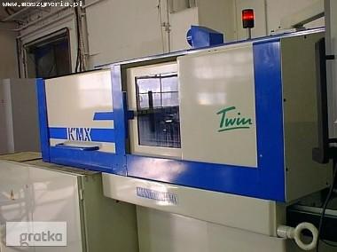 Automat wzdłużny typu szwajcarskiego CNC Manurhin KMX TWIN 207-1