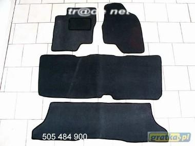Toyota Previa 2000-2006 3 rzędy najwyższej jakości dywaniki samochodowe z grubego weluru z gumą od spodu, dedykowane Toyota Previa-1