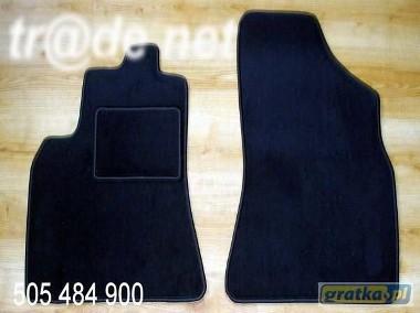 Citroen C15 2 osobowy 1984-2005 najwyższej jakości dywaniki samochodowe z grubego weluru z gumą od spodu, dedykowane Citroen C1-1