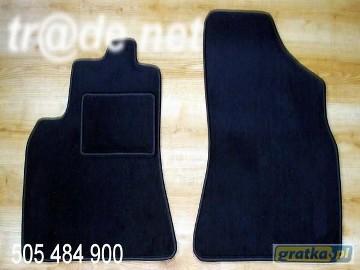 Citroen C15 2 osobowy 1984-2005 najwyższej jakości dywaniki samochodowe z grubego weluru z gumą od spodu, dedykowane Citroen C1