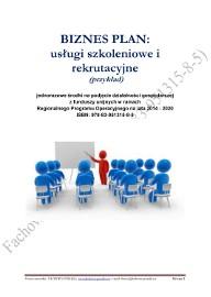69. BIZNESPLAN usługi szkoleniowe i rekrutacyjne 2018 (przykład)