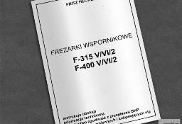 DTR: Frezarka Heckert F-315 V/VI/2 i F-400 V/VI/2