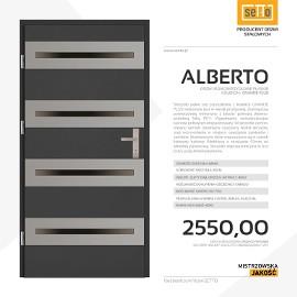 Drzwi wejściowe stalowe SETTO model ALBERTO PLUS