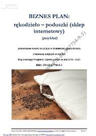 BIZNESPLAN rękodzieło – poduszki (sklep internetowy) (przykład)