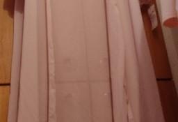 (M/L) Włoska, długa, różowa narzutka plażowa/ szlafrok, płaszcz plażowy/NOWY