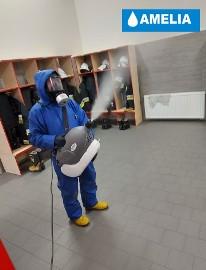 Dezynfekcja pomieszczeń, odkażanie, ozonowanie pomieszczeń z lampami UV-c zamgławianie pomieszczeń Spopt CAŁA POLSKA Tel. 690-811-662