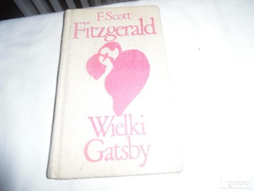 ksiazka,,Wielki Gatsby''