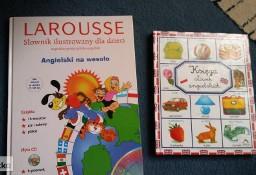słownik angielski ilustrowany dla dzieci i księga słówek angielskich
