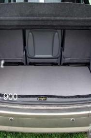 Opel Sintra 5 lub 7 osobowy ze złożonym 3 rzędem siedzeń 1996-1999 najwyższej jakości bagażnikowa mata samochodowa z grubego weluru z gumą od spodu, dedykowana Opel Sintra-2