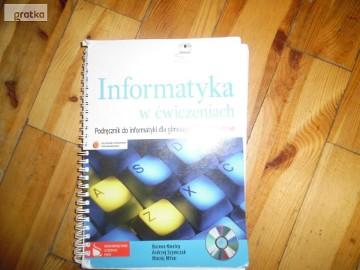 Informatyka w ćwiczeniach Podręcznik do informatyki dla gimnazjum.