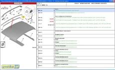 LISTWA OZDOBNA DACHU RELING CITROEN C3 / C3 II 8319 J9 lub 8319 E4 Citroen C3