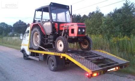 Transport ciągników rolniczych laweta Siennica