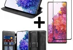 Etui Portfel+ szkło pełne do Samsung Galaxy S20 FE