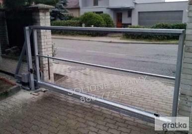 Brama do wypełnienia konstrukcja szkielet, szerokość:300cm /montaż