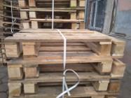 Palety połówki półpalety drewniane 800x600 polpaleta przemysłowa FV