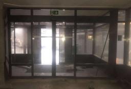 Drzwi aluminiowe sklepowe przesuwne  450 x 270 cm  4500 x 2700 mm