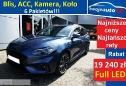Ford Focus IV 2.0 EcoBlue 150 KM, A8 ST Line 5W Blis, ACC, Full LED, Koło