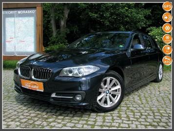 BMW SERIA 5 *Świetny Stan* Niski Przebieg* Jasna Skóra* Serwis ASO* Gwarancja*