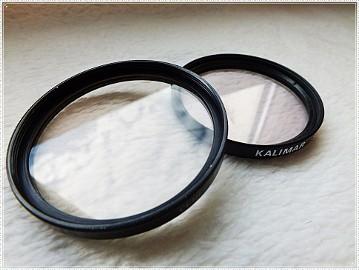 Komplet 2 filtrów do video foto aparatu Filtr Kalimar Skylight