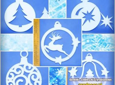Bombki - Zawieszki Styropianowe 24 CM - Dekoracje Na Boże Narodzenie-1