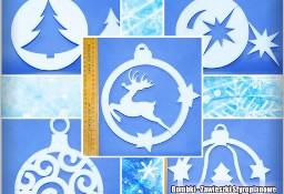 Bombki - Zawieszki Styropianowe 24 CM - Dekoracje Na Boże Narodzenie