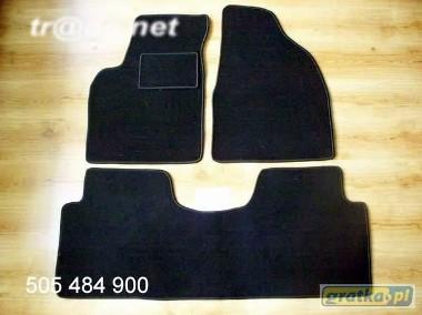 Hyundai Matrix od 2005r. najwyższej jakości dywaniki samochodowe z grubego weluru z gumą od spodu, dedykowane Hyundai Matrix-1